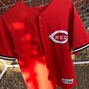 Cincinnati Red jersey size L